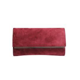 حقيبه نسائيه من الجلد بوردو