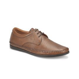حذاء جلد طبيعي  رجالي صيفي صنع في تركيا