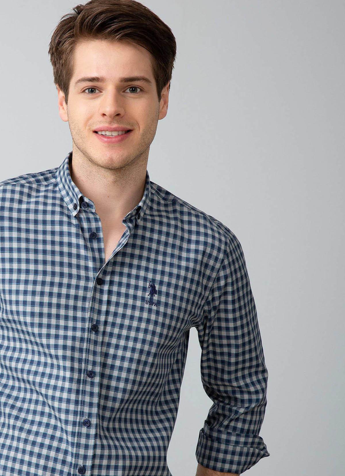 قميص ازرق داكن شبابي ماركة U.S. Polo Assn.