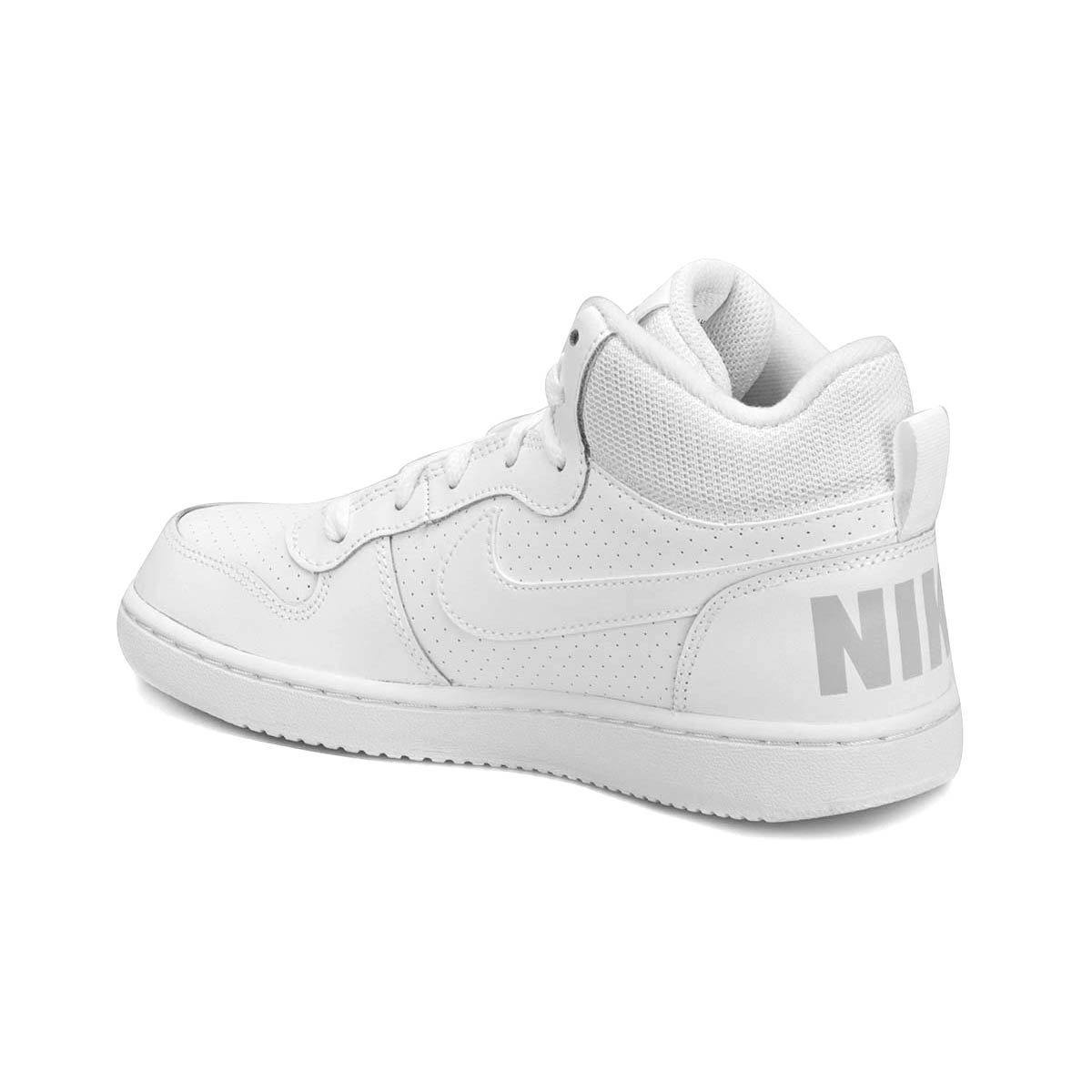 حذاء عالي (سنيكر) للاولاد بالون الابيض ماركة نايك