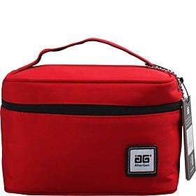 حقيبة الغداء المستطيلة خفيفة الوزن ، أحمر
