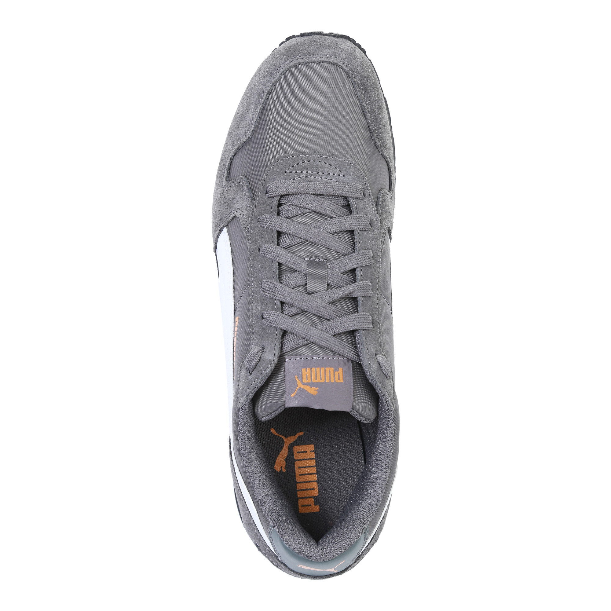 حذاء جري رياضي خطوط بيضاء ماركة بوما