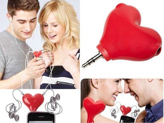 كوبلر للعشاق والاحبة قلب حب لون احمر