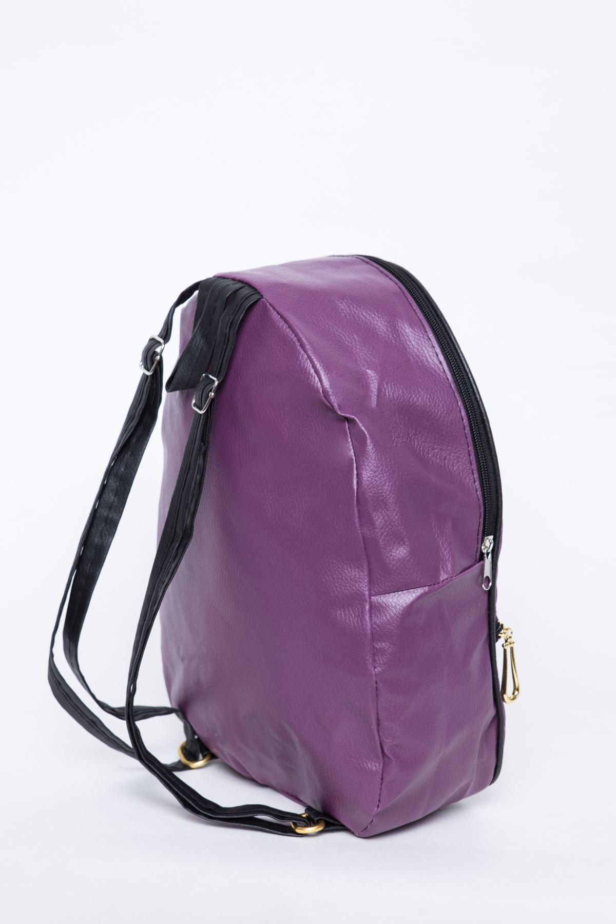 حقيبة نسائية زهري قطنية
